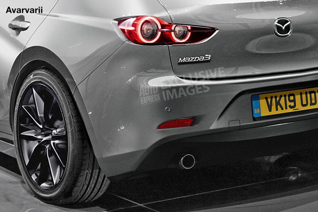 Хэтчбек Mazda 3 2019