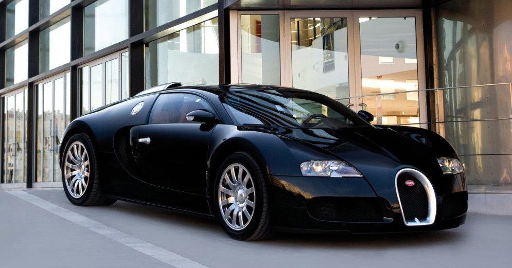 Замена масла Bugatti Veyron