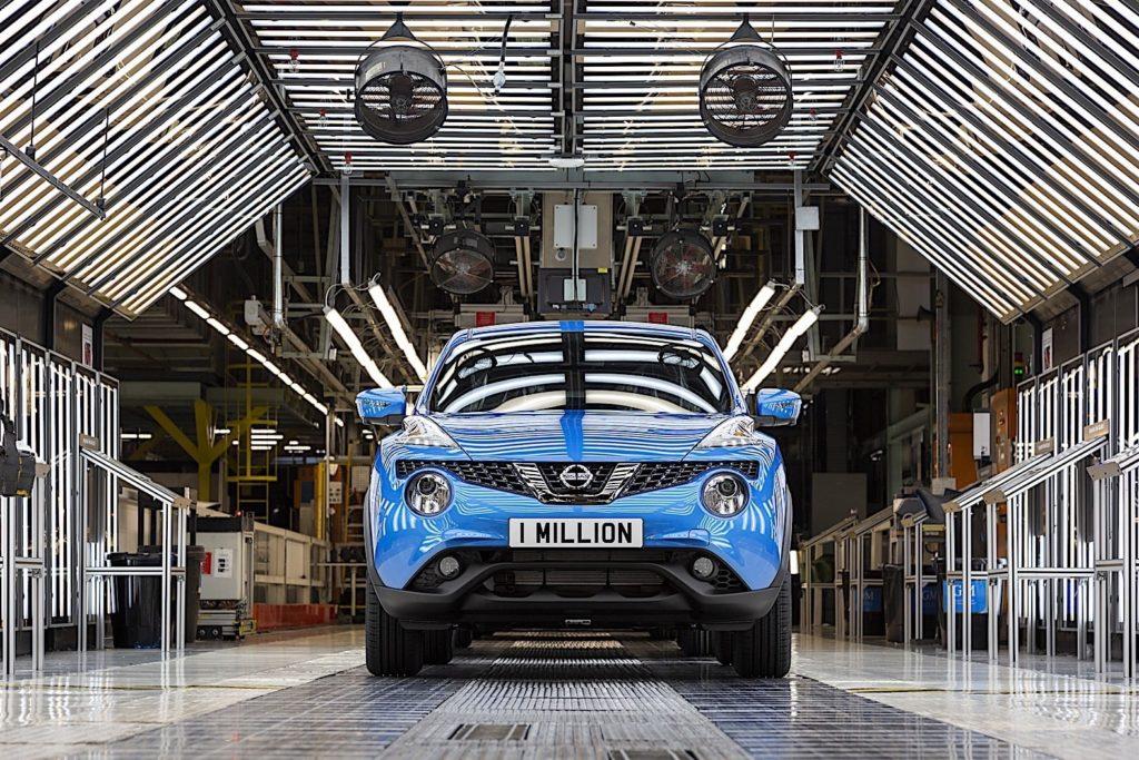 Производство Nissan Juke достигло одного миллиона