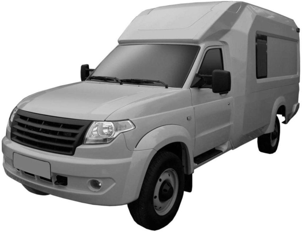 """УАЗ запатентовал фургон на базе """"Профи"""""""