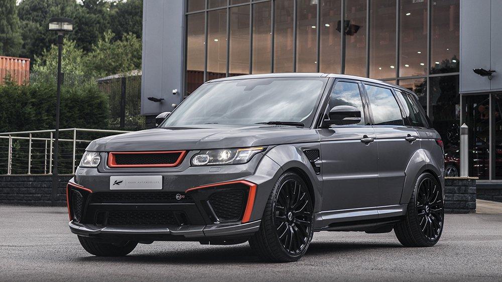 Range Rover Sport SVR, безумный тюнинг от Kahn Design