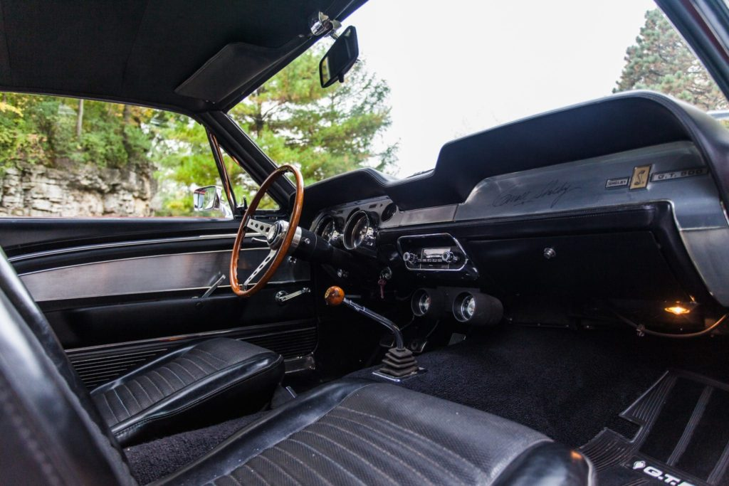 SHELBY GT500 MUSTANG 1967 года