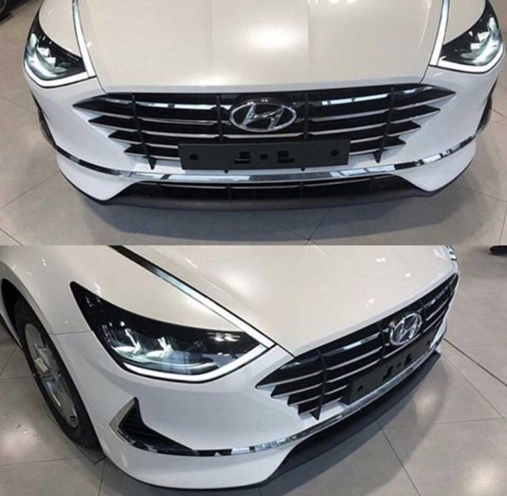 Hyundai Sonata 2020. Живые фото.