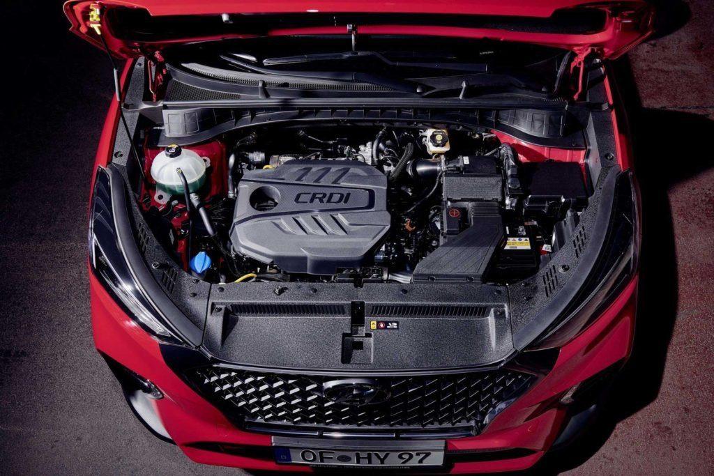 Hyundai Tucson N Line двигатель