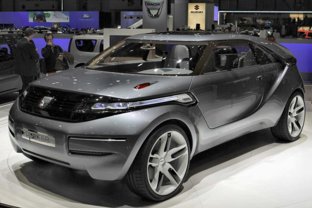 Renault Duster концет 2009