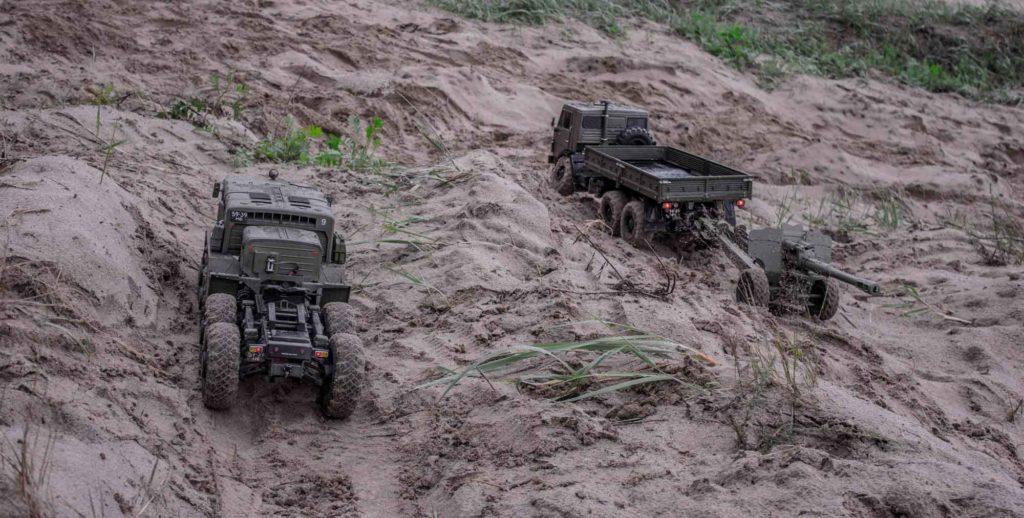 Реалистичные модели советских грузовиков