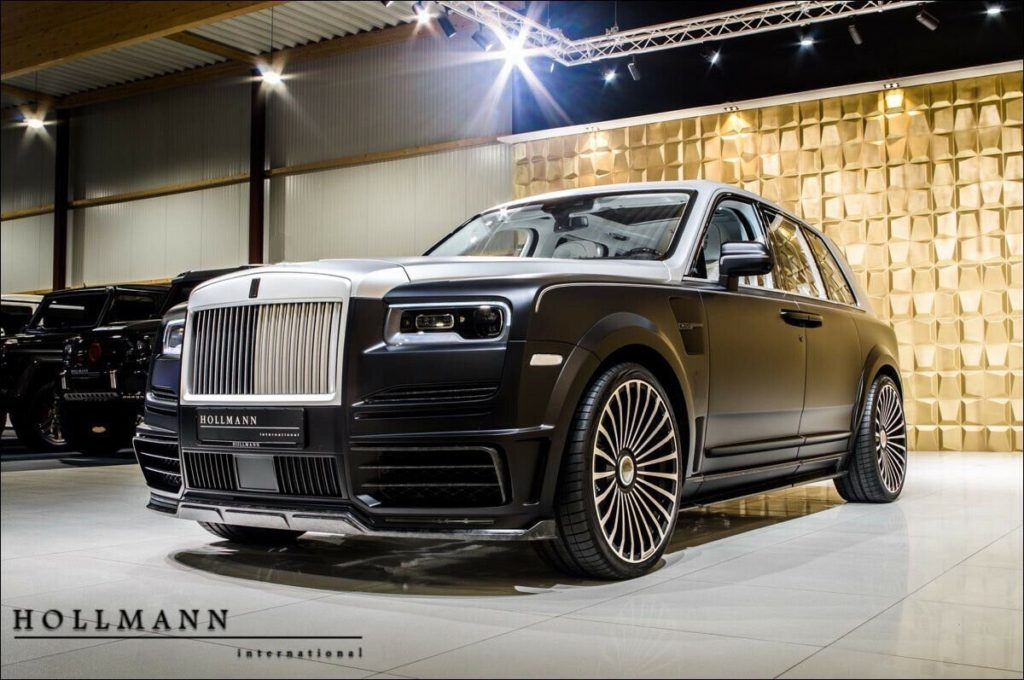 Rolls-Royce Cullinan от Mansory,