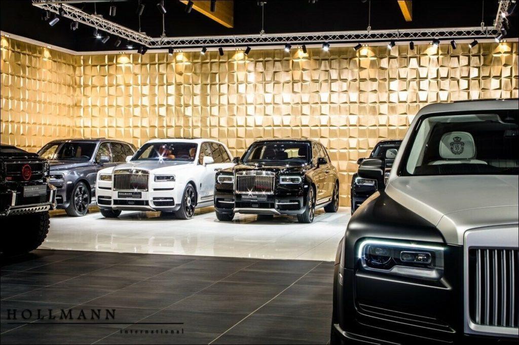 Rolls-Royce Cullinan от Mansory