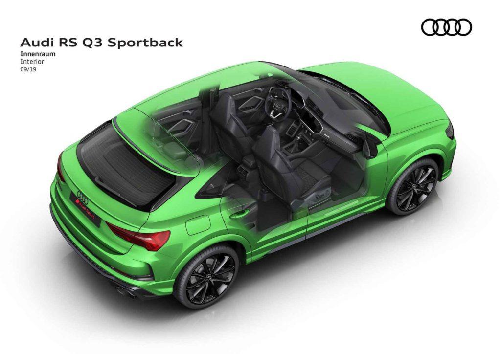 RS Q3 Sportback интерьер