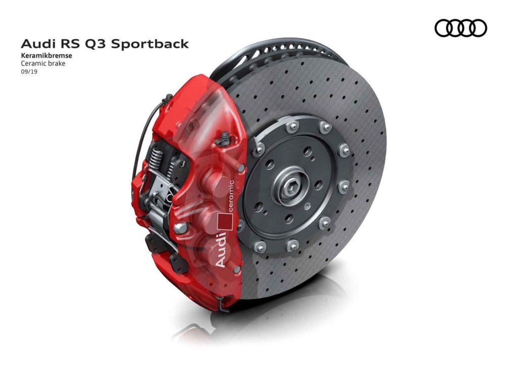 RS Q3 Sportback тормоза