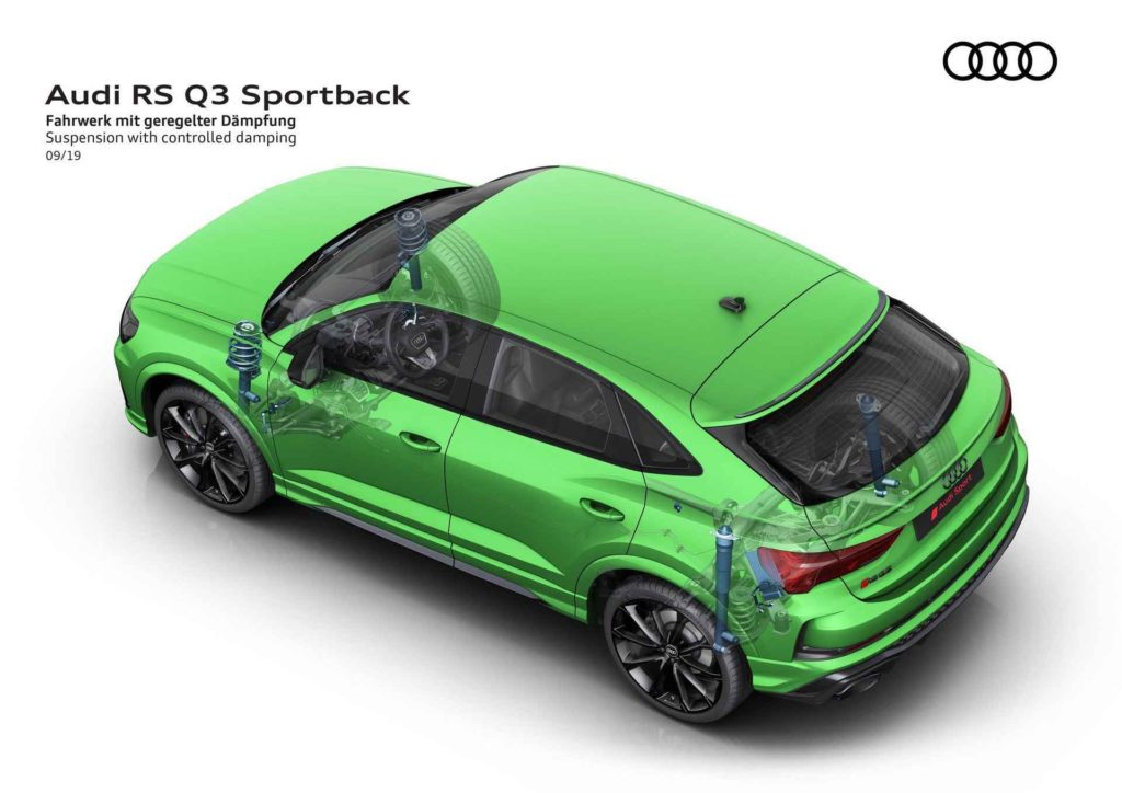 RS Q3 Sportback подаеска