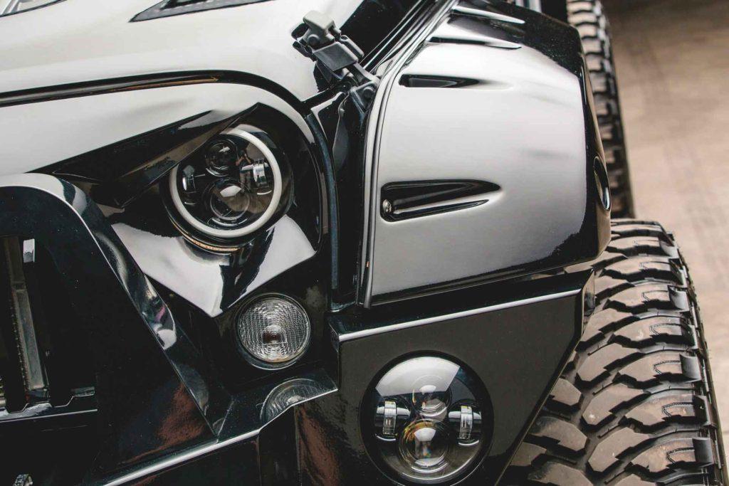 Jeep Wrangler 2017 года